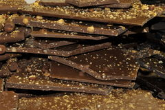 Pile of Chocolate Royalty Free Stock Images