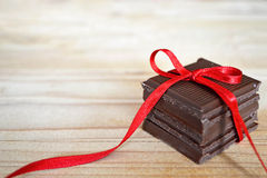 Pile of chocolate Royalty Free Stock Image