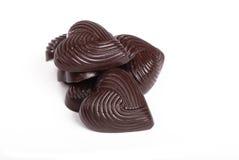 A pile of chocolates Royalty Free Stock Photos