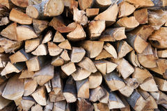 Pile of chopped fire wood Royalty Free Stock Image