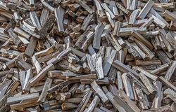 Pile Of Chopped Wood Stock Images