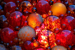 Pile of Christmas balls Royalty Free Stock Photos