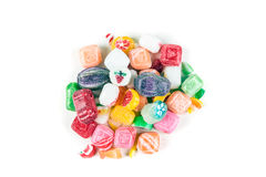 Pile of Christmas Candy Stock Images