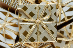 A pile of Christmas gifts Royalty Free Stock Image