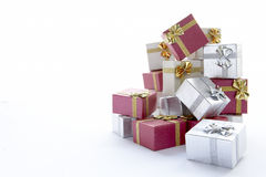 Pile Of Christmas Presents Royalty Free Stock Photo