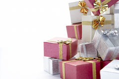 Pile Of Christmas Presents Royalty Free Stock Photography