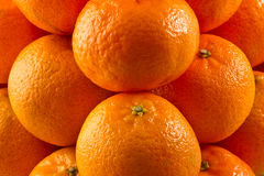 Pile of clementines stock images
