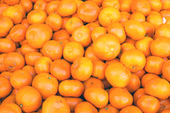 Pile of clementines Royalty Free Stock Photos