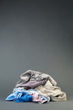 Pile of Clothes Royalty Free Stock Images