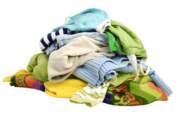 A pile of clothes royalty free stock photo