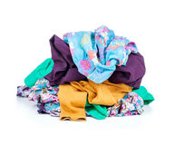 Pile of clothing Royalty Free Stock Images