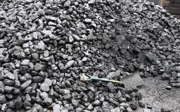 Pile of Coal. Stock Photography