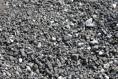 Pile of coal background Royalty Free Stock Photos