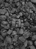 Pile of coal  background Stock Photography