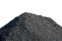 Pile of coal Stock Images