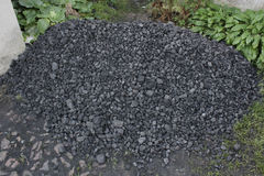Pile of coal Royalty Free Stock Images