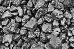 Pile of coal Royalty Free Stock Photography