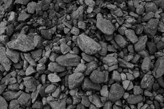 Pile of coal Stock Photography