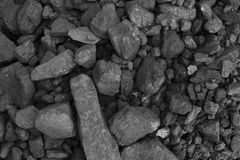 Pile of coal Stock Photo