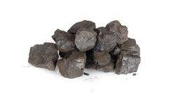 Pile of Coals Royalty Free Stock Photo