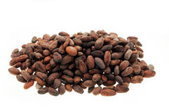 Pile of Cocoa beans Royalty Free Stock Images