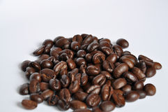 Pile of Coffee beans. A pile of fine Arabica Coffee Beans royalty free stock photo