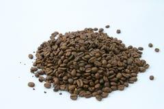 Pile of coffee beans Stock Photos