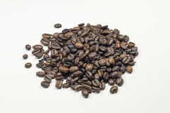 A pile of coffee Royalty Free Stock Photos