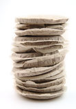 Pile of coffee pads Royalty Free Stock Images
