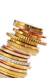 A Pile Of Coins Royalty Free Stock Photos