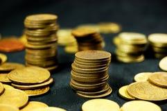 Pile of coins Stock Photos