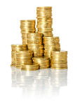 Pile of Coins Stock Images