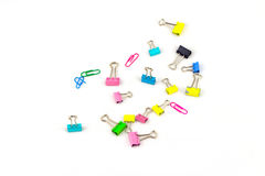 A pile of color clip Royalty Free Stock Photography