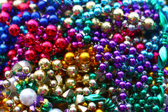 Pile of Colorful Beads Royalty Free Stock Photography