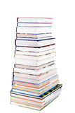 Pile of colorful Books Stock Photos