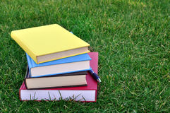 A pile of colorful books Stock Photography
