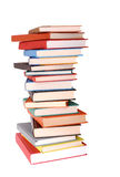 A pile of colorful books Royalty Free Stock Image