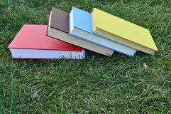 A pile of colorful books Royalty Free Stock Images