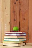 A pile of colorful books Stock Images