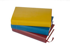 Pile of colorful books Royalty Free Stock Photos