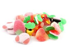 Pile of colorful candy Royalty Free Stock Photography