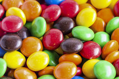 Pile of colorful candy stock images