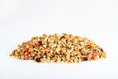 Pile of colorful cereal. Healthy cereal in a pile royalty free stock photography