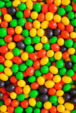 Pile of colorful chocolate coated candy. Assorted sweet jelly beans. Colorful image great for backgrounds Royalty Free Stock Photos