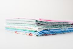 A pile of colorful fabric Stock Photography