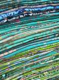 Pile of colorful fabric . Shallow depth of field Royalty Free Stock Image