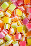 Pile of colorful jelly Royalty Free Stock Image