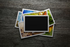 Pile of colorful photos Royalty Free Stock Photography