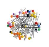 Pile of colorful  pins Royalty Free Stock Photos