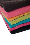 Pile of colorful scarves Stock Photography